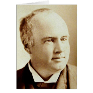 Robert G. Ingersoll Greeting Card - Blank Inside