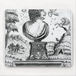 Robert Herrick , engraved by the artist Mouse Pad