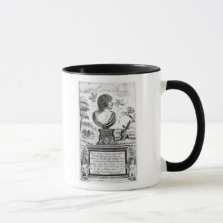 Robert Herrick , engraved by the artist Mug