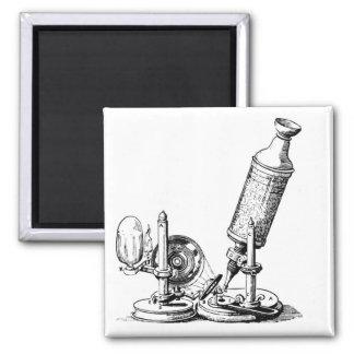 Robert Hooke's Microscope Square Magnet
