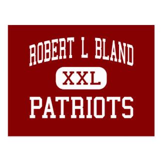 Robert L Bland - Patriots - Middle - Weston Postcard
