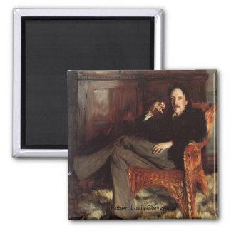 Robert Louis Stevenson Portrait Fridge Magnet