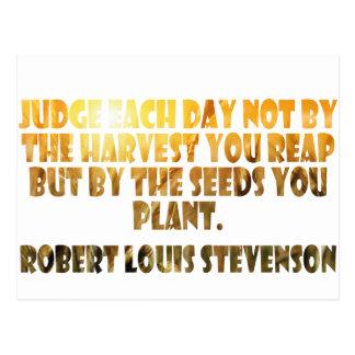 Robert Louis Stevenson Post Card