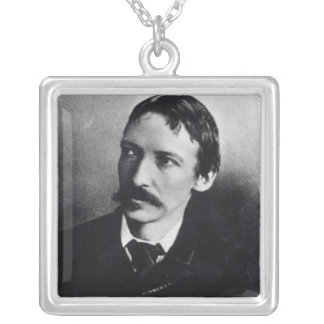 Robert Louis Stevenson Silver Plated Necklace