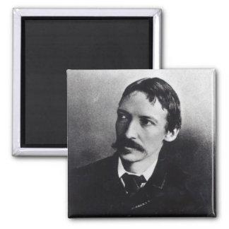 Robert Louis Stevenson Square Magnet