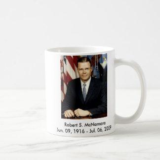 Robert McNamara portrait, Coffee Mug