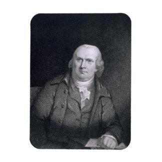Robert Morris (1733-1806) engraved by Thomas B. We Rectangular Photo Magnet