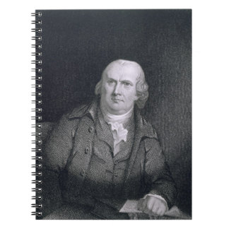 Robert Morris (1733-1806) engraved by Thomas B. We Spiral Notebook