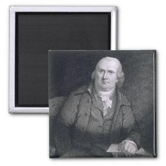 Robert Morris (1733-1806) engraved by Thomas B. We Square Magnet
