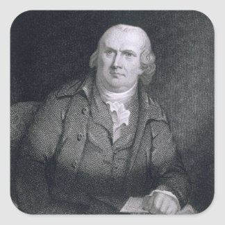 Robert Morris (1733-1806) engraved by Thomas B. We Sticker