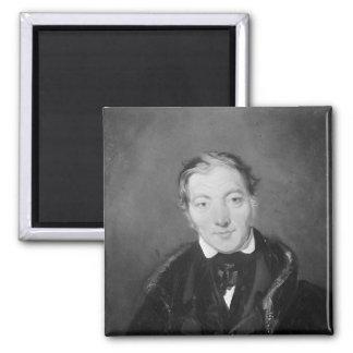 Robert Owen Square Magnet