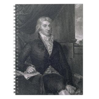 Robert R. Livingston, engraved by E. Mackenzie (en Notebook