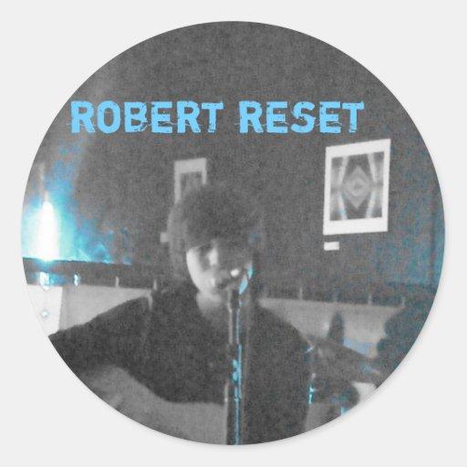 Robert Reset Live Stickers