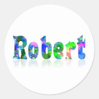 Robert Round Sticker