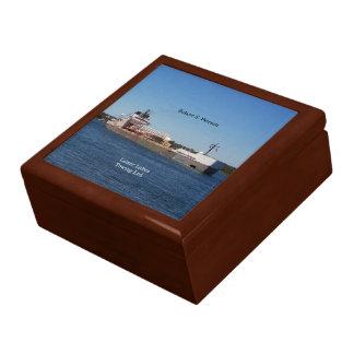 Robert S. Pierson keepsake box