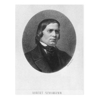 Robert Schumann, 1839 Postcard