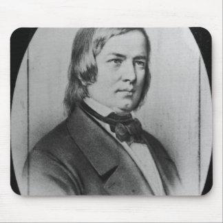 Robert Schumann engraved from a photograph Mousepads