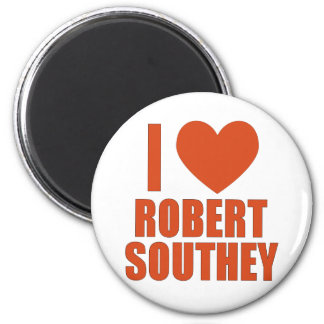 Robert Southey 6 Cm Round Magnet