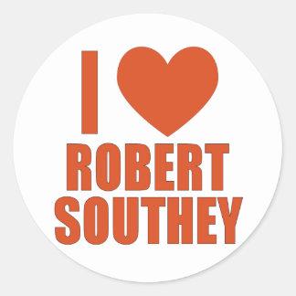 Robert Southey Round Sticker