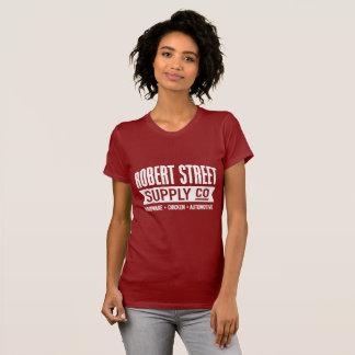 Robert Street Supply Women's Classic Red T-shirt