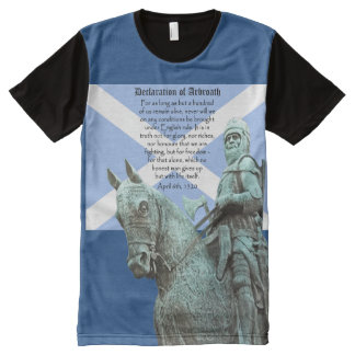 Robert the Bruce Declaration of Arbroath Tee All-Over Print T-Shirt