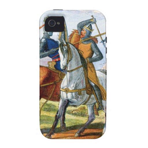 Robert the Bruce kills Sir Henry Bohum Vibe iPhone 4 Cover