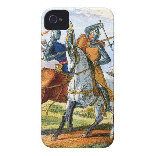 Robert the Bruce kills Sir Henry Bohum iPhone 4 Cases