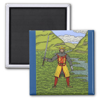 Robert the Bruce Square Magnet