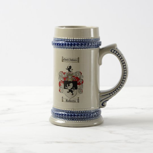 Roberts Coat of Arms Stein