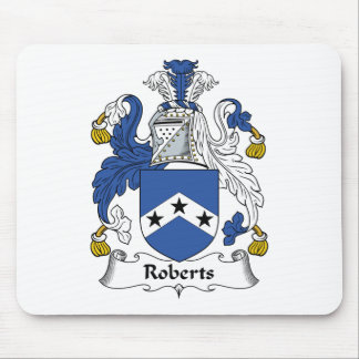 Roberts Family Crest Mouse Mat