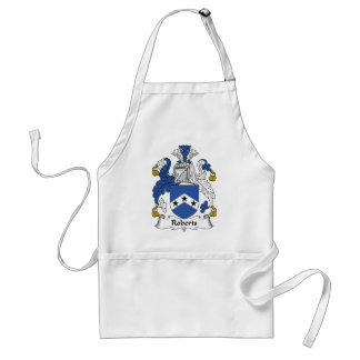 Roberts Family Crest Standard Apron