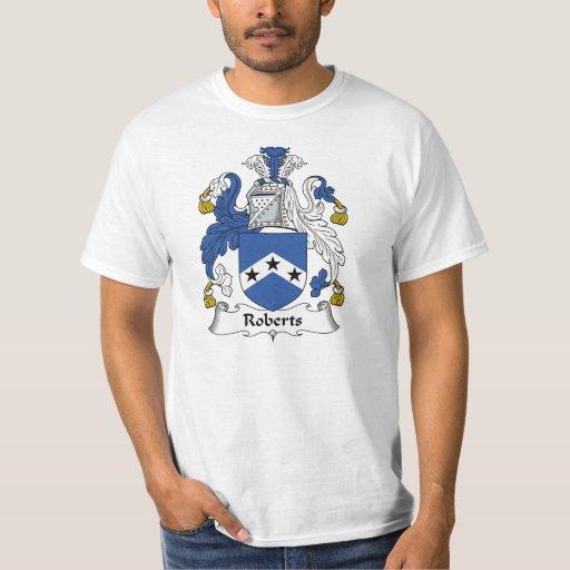 Roberts Family Crest T-shirt