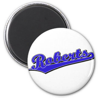 Roberts in Blue Refrigerator Magnets