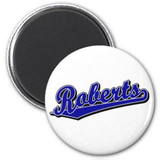 Roberts in Blue Refrigerator Magnet