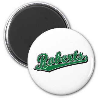 Roberts in Green Refrigerator Magnets