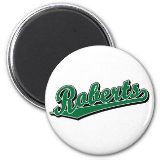 Roberts in Green Fridge Magnets