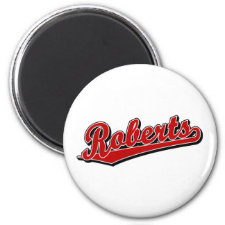 Roberts in Red Magnets