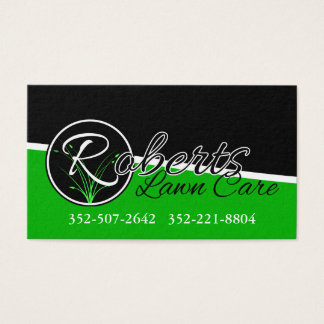 Roberts Lawn Care Business Card
