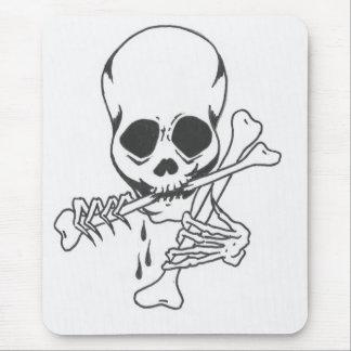 Robert's Skull 5 Mouse Mat