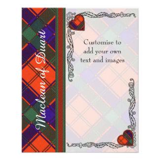 Robertson clan Plaid Scottish tartan 11.5 Cm X 14 Cm Flyer