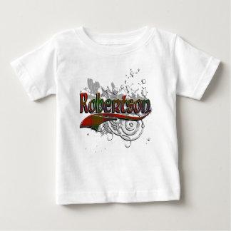 Robertson Tartan Grunge Baby T-Shirt