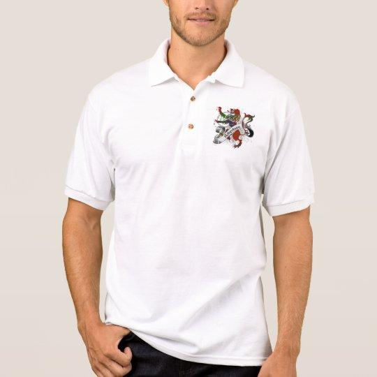 Robertson Tartan Lion Polo Shirt