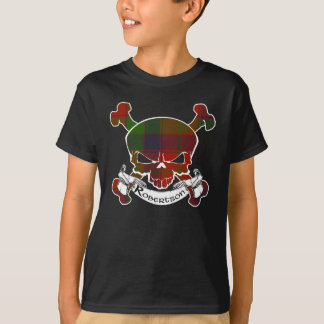 Robertson Tartan Skull T-Shirt
