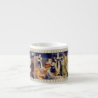 Robes style Bakst realisees par Paquin #2 Espresso Mug