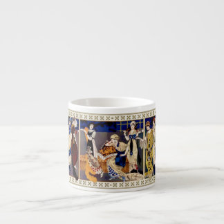 Robes style Bakst realisees par Paquin #2 6 Oz Ceramic Espresso Cup