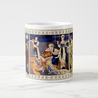 Robes style Bakst realisees par Paquin 20 Oz Large Ceramic Coffee Mug