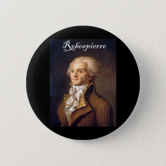 Robespierre 1 with blackadder 6 cm round badge