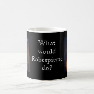 Robespierre 1 with blackadder classic white coffee mug