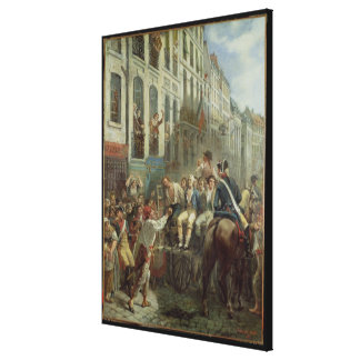 Robespierre  and Saint-Just Canvas Print