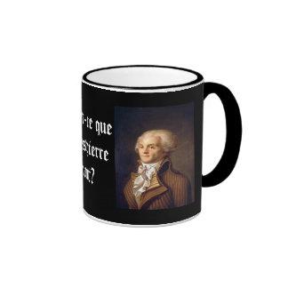 Robespierre (French caption) Ringer Mug
